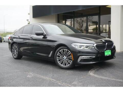 2017 BMW 5 Series for sale at Douglass Automotive Group - Douglas Volkswagen in Bryan TX