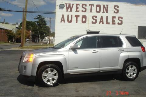 2012 GMC Terrain for sale at Weston's Auto Sales, Inc in Crewe VA