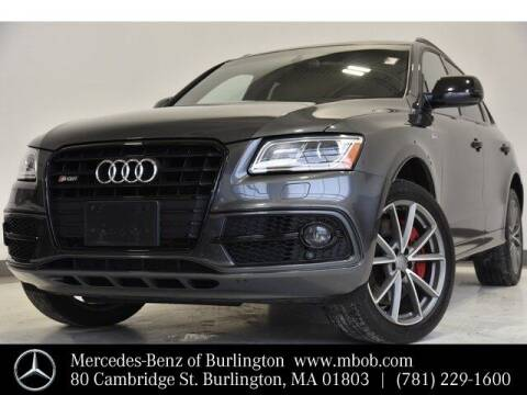 2017 Audi SQ5 for sale at Mercedes Benz of Burlington in Burlington MA
