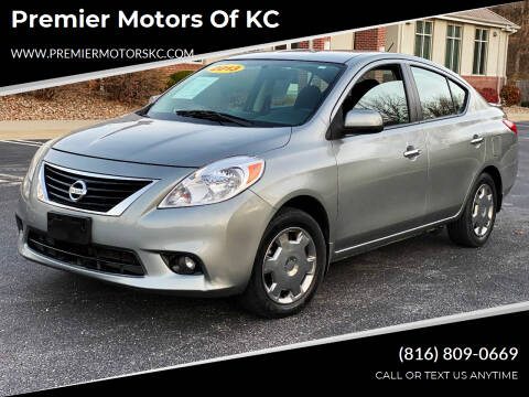 2013 Nissan Versa for sale at Premier Motors of KC in Kansas City MO