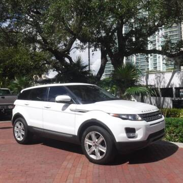 2013 Land Rover Range Rover Evoque for sale at Choice Auto in Fort Lauderdale FL