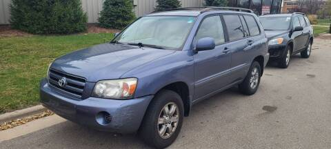2004 Toyota Highlander for sale at Steve's Auto Sales in Madison WI