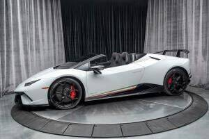 2018 Lamborghini Huracan for sale at Cj king of car loans/JJ's Best Auto Sales in Troy MI