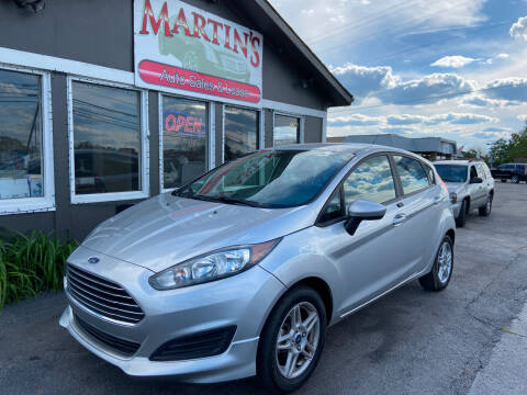 2017 Ford Fiesta for sale at Martins Auto Sales in Shelbyville KY