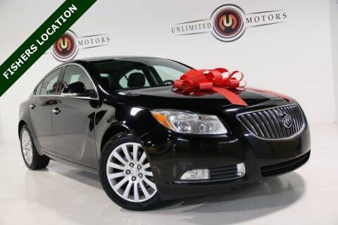 2013 Buick Regal for sale at Unlimited Motors in Fishers IN