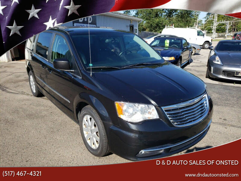 2015 Chrysler Town and Country for sale at D & D Auto Sales Of Onsted in Onsted MI