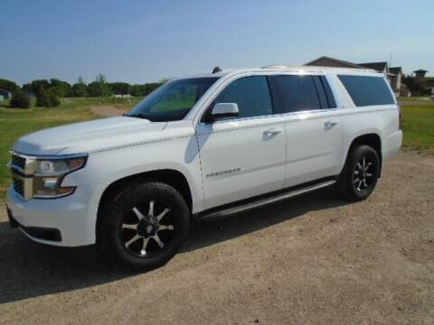 2015 Chevrolet Suburban for sale at SWENSON MOTORS in Gaylord MN