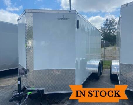 2022 Nation Craft 7 x 16 TA 2 for sale at Grizzly Trailers in Fitzgerald GA