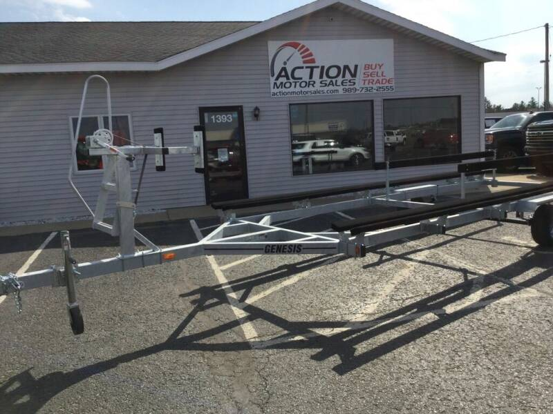 2021 GENESIS TRAILER MBPT22-1 for sale at Action Motor Sales in Gaylord MI
