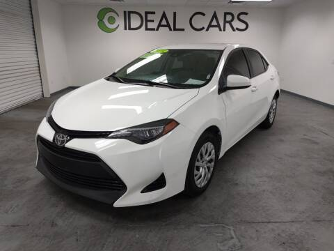 2018 Toyota Corolla for sale at Ideal Cars Atlas in Mesa AZ
