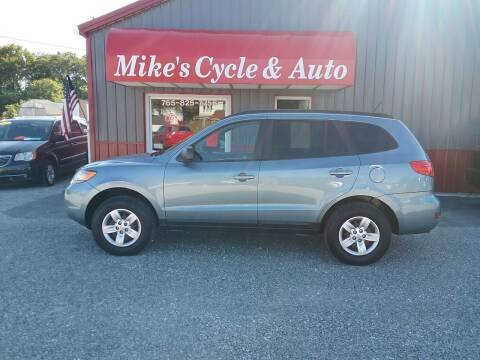 2009 Hyundai Santa Fe for sale at MIKE'S CYCLE & AUTO in Connersville IN