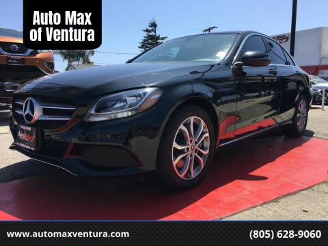2017 Mercedes-Benz C-Class for sale at Auto Max of Ventura in Ventura CA