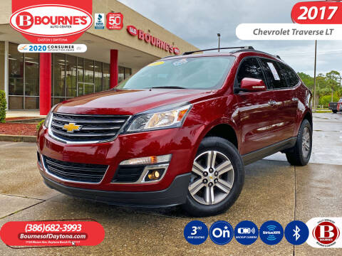 2017 Chevrolet Traverse for sale at Bourne's Auto Center in Daytona Beach FL