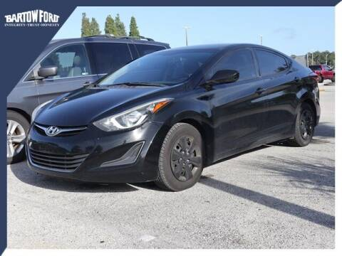 2016 Hyundai Elantra for sale at BARTOW FORD CO. in Bartow FL