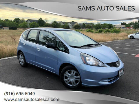 2009 Honda Fit for sale at Sams Auto Sales in North Highlands CA