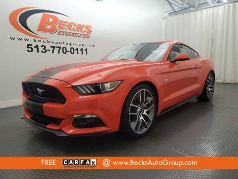 2015 Ford Mustang for sale at Becks Auto Group in Mason OH