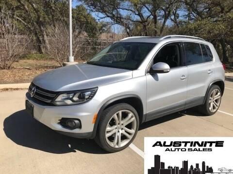 2012 Volkswagen Tiguan for sale at Austinite Auto Sales in Austin TX