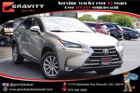 2017 Lexus NX 200t for sale at Gravity Autos Roswell in Roswell GA