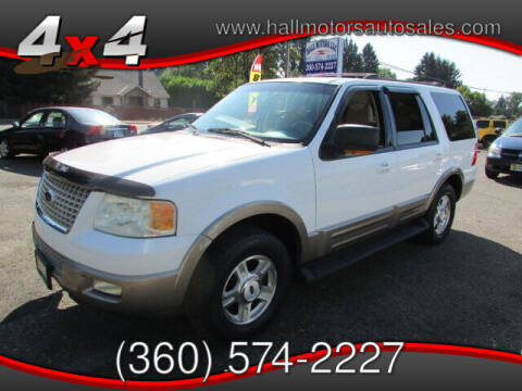 2003 Ford Expedition for sale at Hall Motors LLC in Vancouver WA