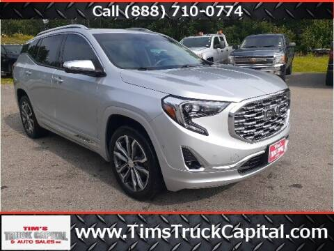 2018 GMC Terrain for sale at TTC AUTO OUTLET/TIM'S TRUCK CAPITAL & AUTO SALES INC ANNEX in Epsom NH