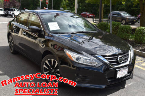 2018 Nissan Altima for sale at Ramsey Corp. in West Milford NJ