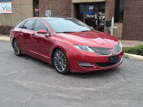 2015 Lincoln MKZ for sale at Mighty Motors in Adrian MI