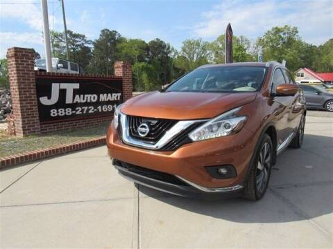 2015 Nissan Murano for sale at J T Auto Group in Sanford NC