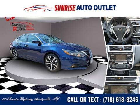 2018 Nissan Altima for sale at Sunrise Auto Outlet in Amityville NY
