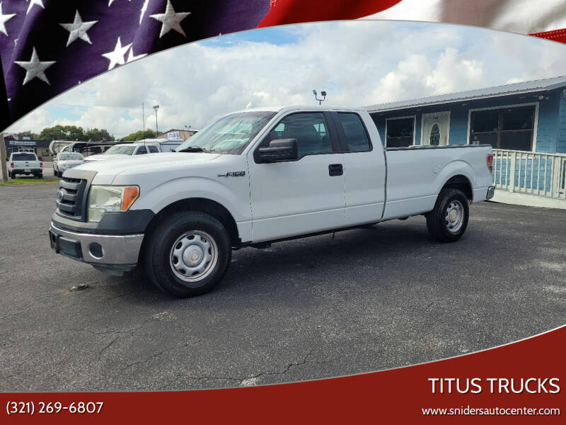 2011 Ford F-150 for sale at Titus Trucks in Titusville FL