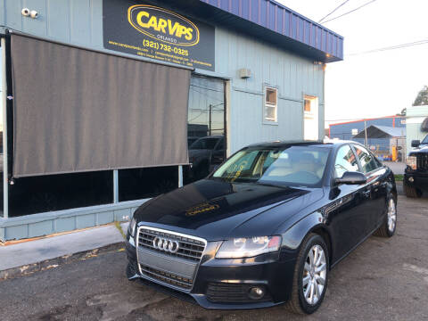 2012 Audi A4 for sale at CAR VIPS ORLANDO LLC in Orlando FL