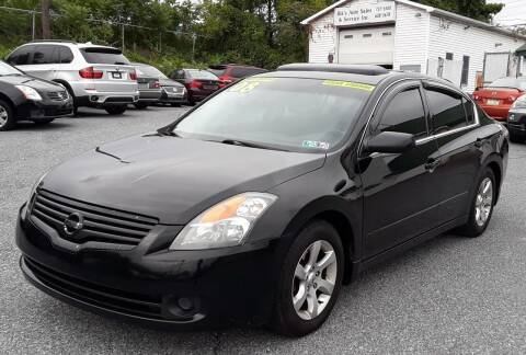 2008 Nissan Altima for sale at Bik's Auto Sales in Camp Hill PA