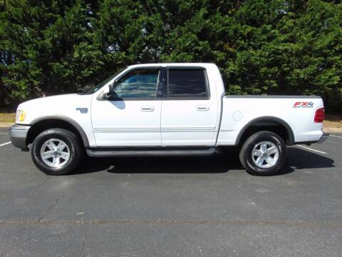 2002 Ford F-150 for sale at CR Garland Auto Sales in Fredericksburg VA