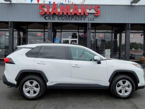 2019 Toyota RAV4 Hybrid for sale at Siamak's Car Company llc in Salem OR