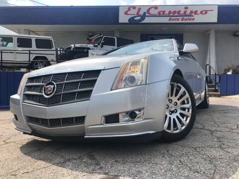 2011 Cadillac CTS for sale at El Camino Auto Sales in Gainesville GA