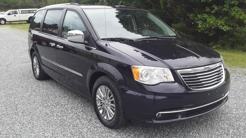 2011 Chrysler Town and Country for sale at BEST BUY AUTO SALES in Thomasville NC
