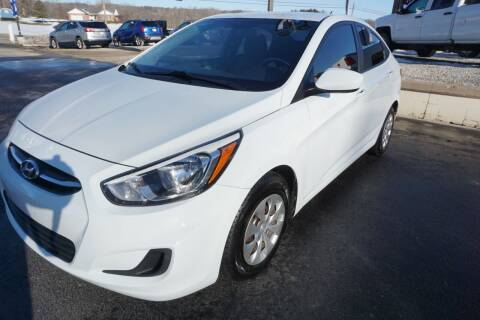 2016 Hyundai Accent for sale at MyEzAutoBroker.com in Mount Vernon OH