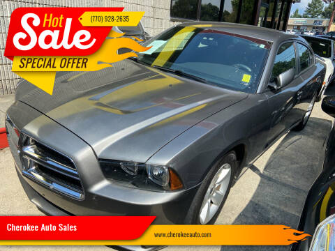 2012 Dodge Charger for sale at Cherokee Auto Sales in Acworth GA