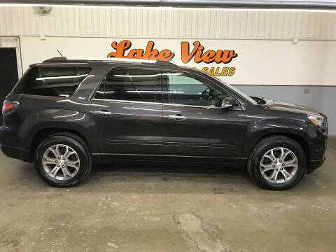2013 GMC Acadia for sale at Lake View Auto Center and Sales in Oshkosh WI