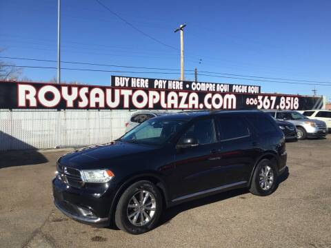 2014 Dodge Durango for sale at Roy's Auto Plaza 2 in Amarillo TX