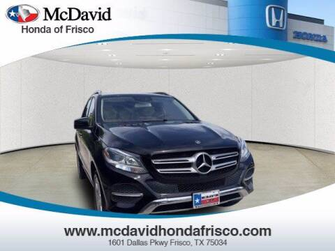 2018 Mercedes-Benz GLE for sale at DAVID McDAVID HONDA OF IRVING in Irving TX