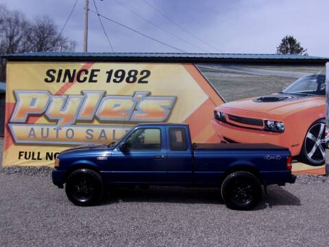 2011 Ford Ranger for sale at Pyles Auto Sales in Kittanning PA