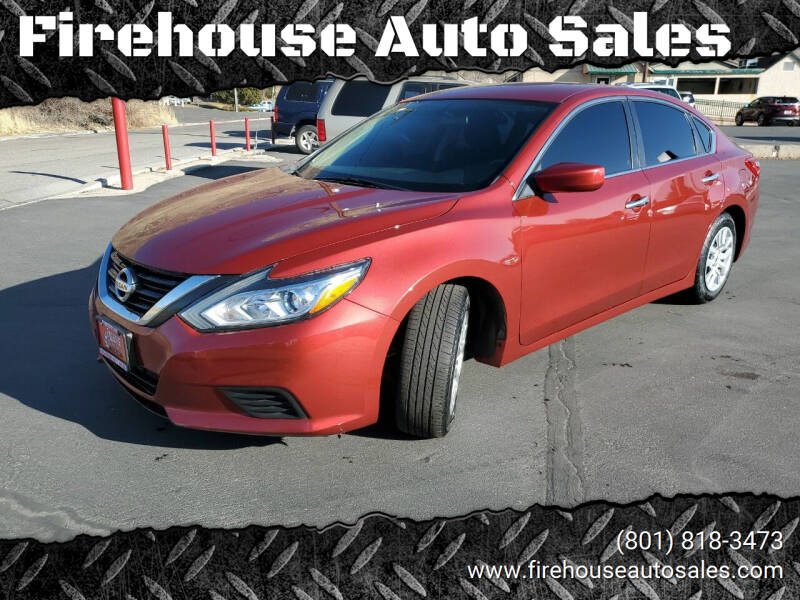 2016 Nissan Altima for sale at Firehouse Auto Sales in Springville UT