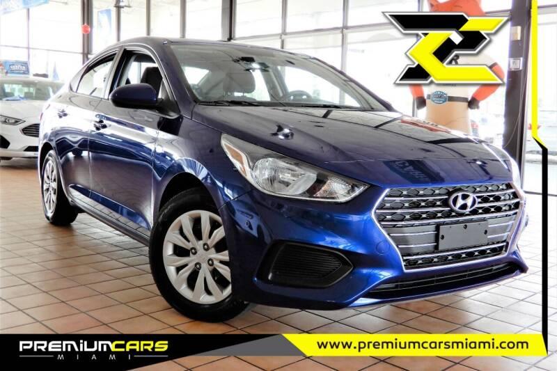 2019 Hyundai Accent for sale at Premium Cars of Miami in Miami FL