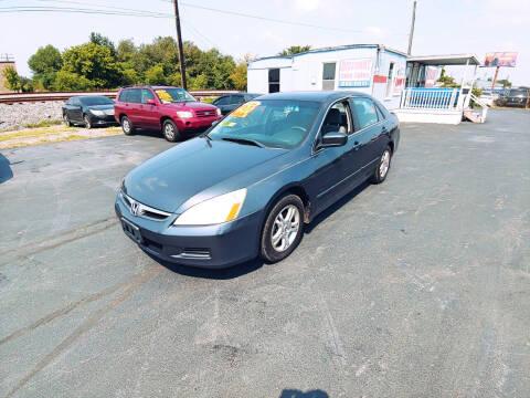 2006 Honda Accord for sale at DISCOUNT AUTO SALES in Murfreesboro TN