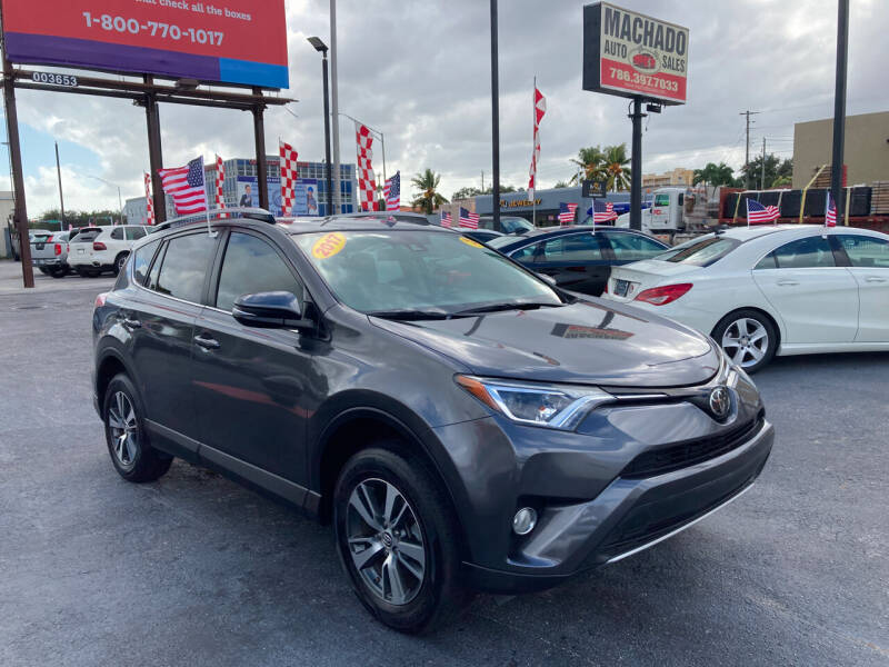 2017 Toyota RAV4 for sale at MACHADO AUTO SALES in Miami FL
