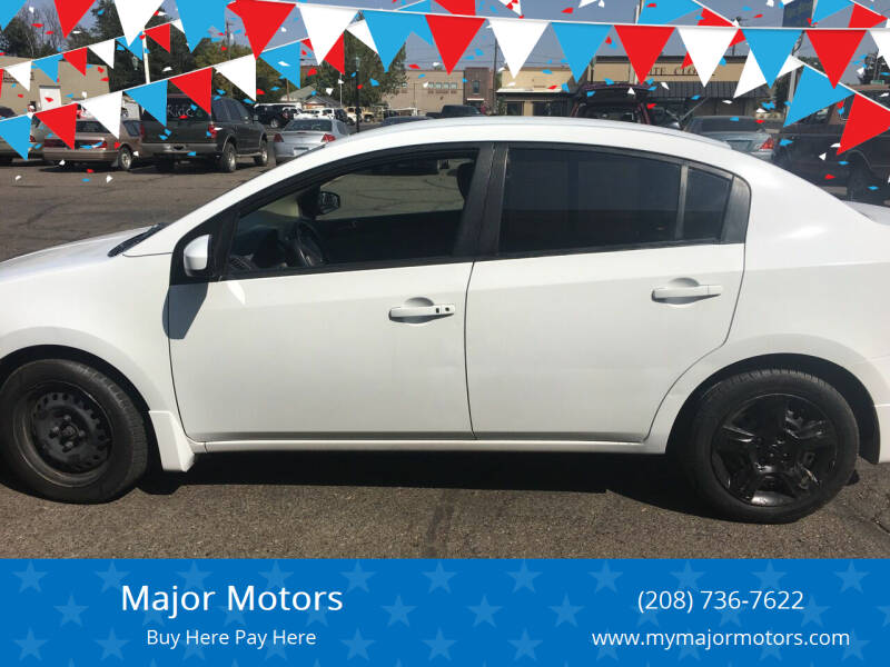 2008 Nissan Sentra for sale at Major Motors in Twin Falls ID