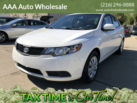 2010 Kia Forte for sale at AAA Auto Wholesale in Parma OH