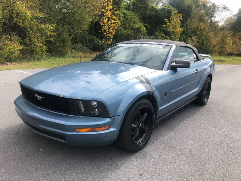 2006 Ford Mustang for sale at Allrich Auto in Atlanta GA