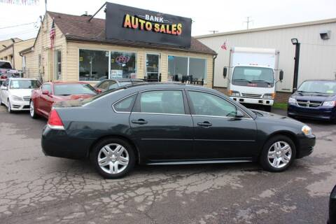 2015 Chevrolet Impala Limited for sale at BANK AUTO SALES in Wayne MI