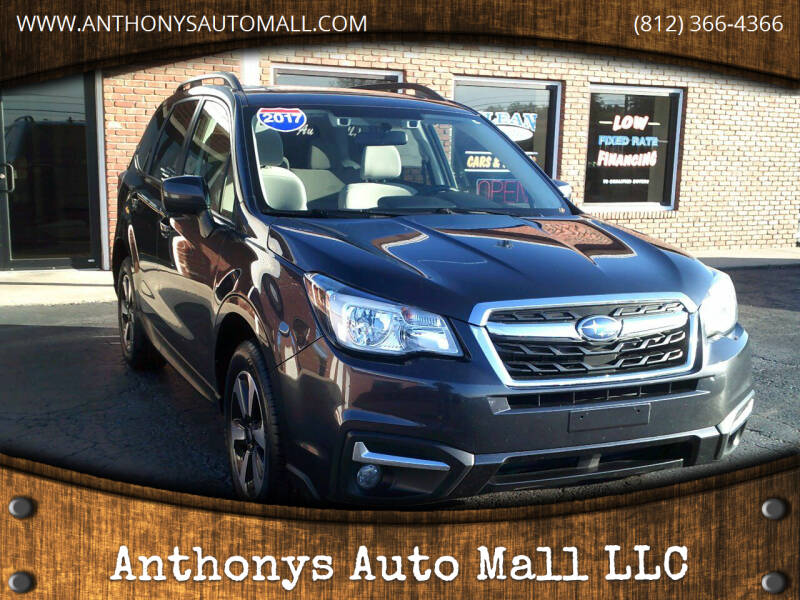 2017 Subaru Forester for sale at Anthonys Auto Mall LLC in New Salisbury IN